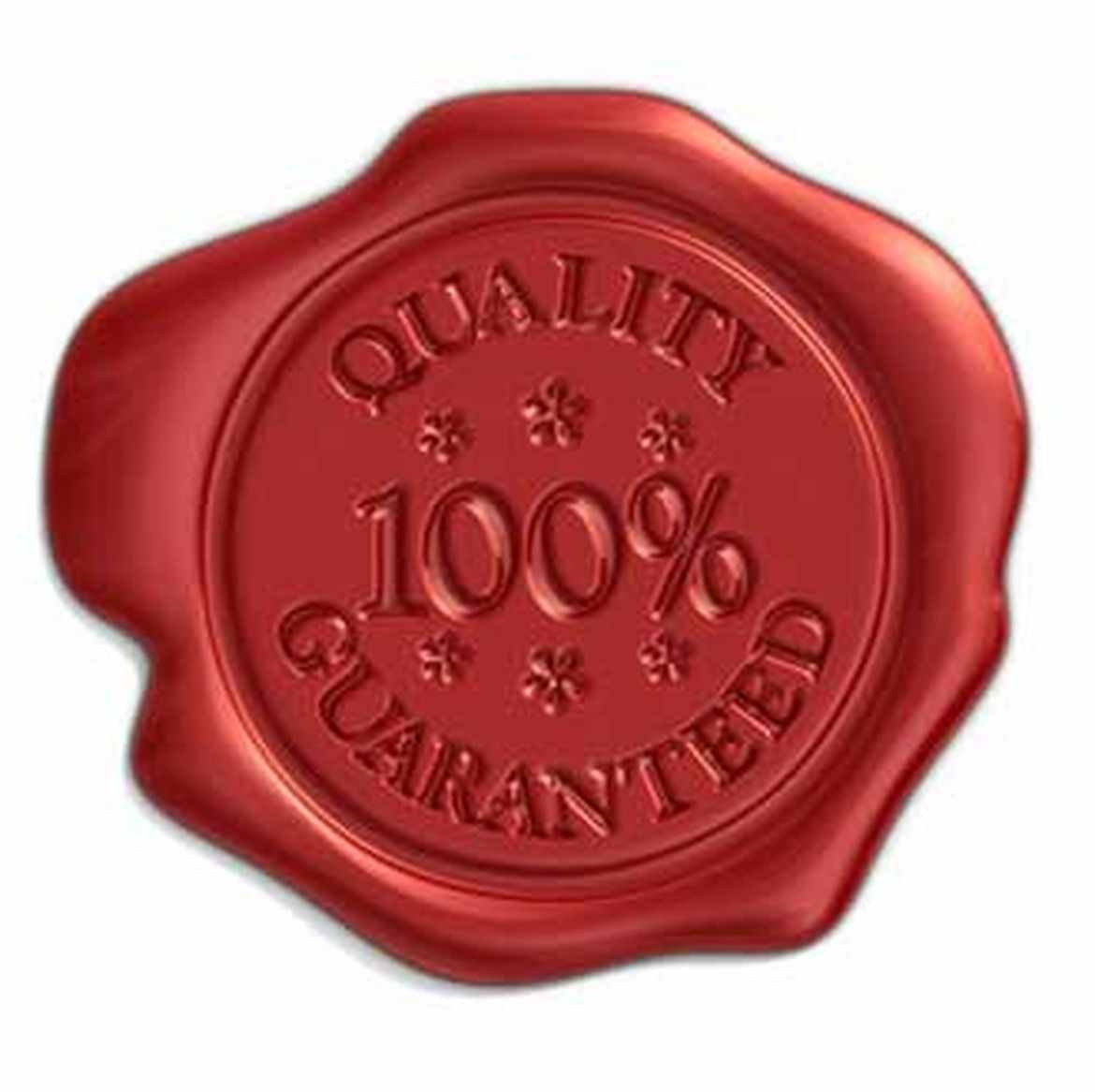 100% Quality Guaranteed World Class Warranty